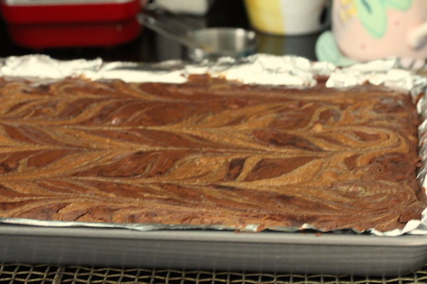 Bobby Flay's Peanut Butter Caramel Swirl Brownies