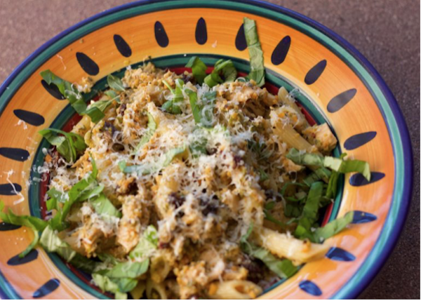 Penne With Tuna, Capers And Raisins