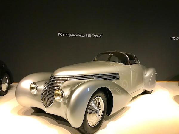 "A silver 1938 Hispano-Suiza H6B ""Xenia"""