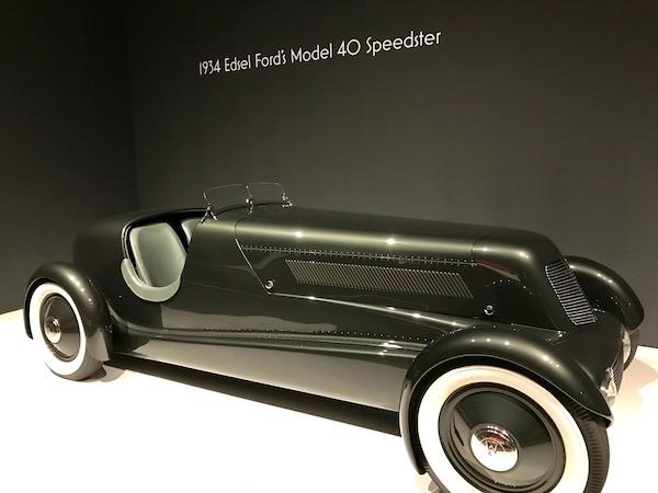 1934 Edsel Ford's Model 40 Speedster convertible