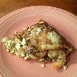 Shrimp And Feta Omelet