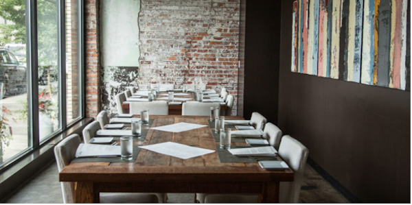 Private Dining at Chef and the Farmer Photo Credit: Website