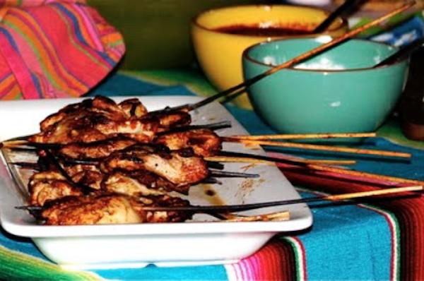 Yucatan Chicken Skewers