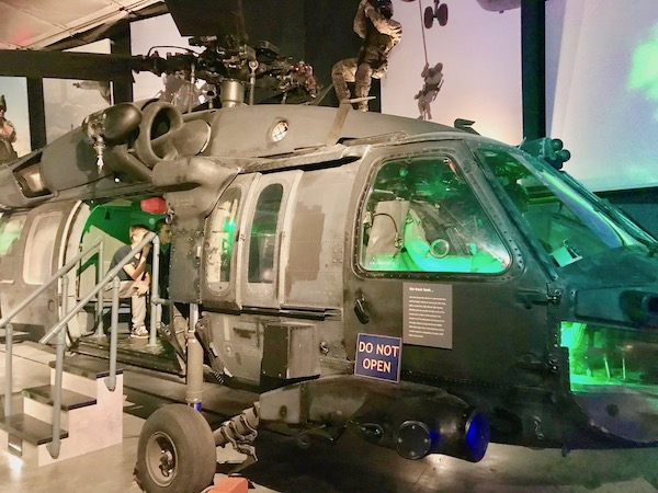 Navy Seal Museum on N. Hutchinson Island Florida Sikorsky UH-60 Black Hawk helicopter