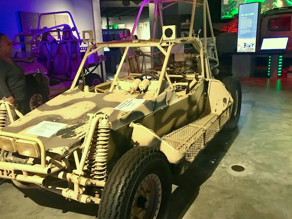 Navy Seal Museum on N. Hutchinson Island Florida camouflaged ATV