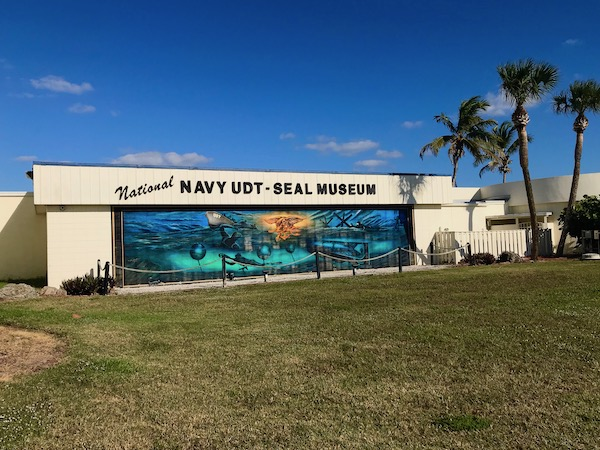 Navy SEAL Museum on N. Hutchinson Island Florida