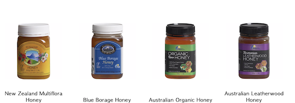 Jars of honey are part of my Gift Roundup for Mothers Day