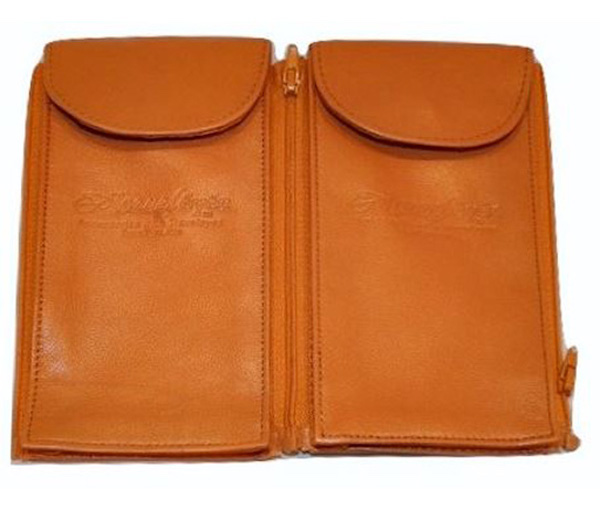 TravelEyez cases in supple tan leather are part of my Gift Roundup for Mothers Day